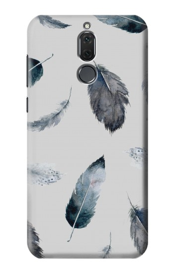 Printed Feather Paint Pattern Huawei Mate 10 Lite Case
