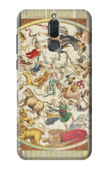 Printed Antique Constellation Map Huawei Mate 10 Lite Case