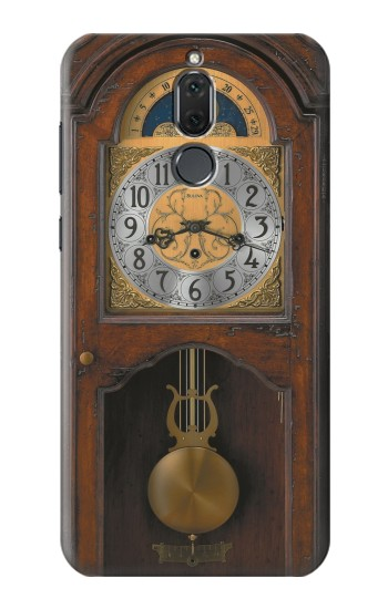 Printed Grandfather Clock Antique Wall Clock Huawei Mate 10 Lite Case
