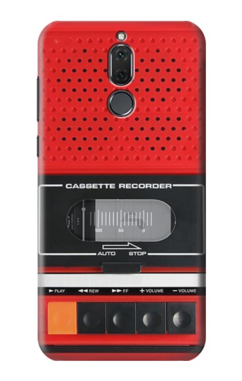 Printed Red Cassette Recorder Graphic Huawei Mate 10 Lite Case