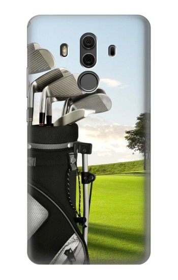 Printed Golf Huawei Mate 10 Pro, Porsche Design Case