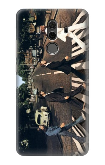 Printed The Beatles Abbey Road Huawei Mate 10 Pro, Porsche Design Case