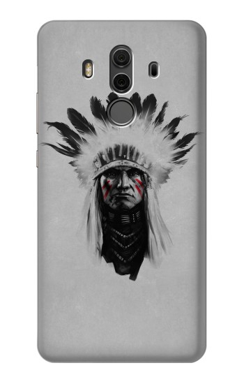 Printed Indian Chief Huawei Mate 10 Pro, Porsche Design Case