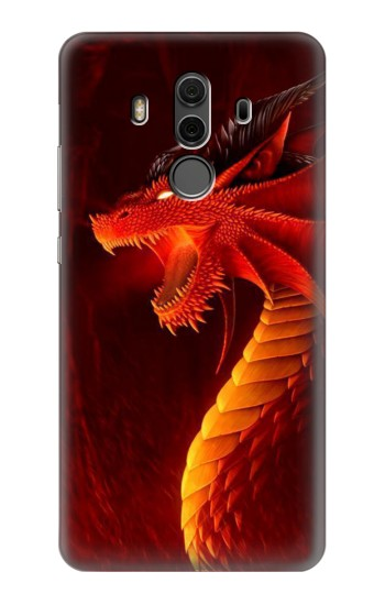 Printed Red Dragon Huawei Mate 10 Pro, Porsche Design Case