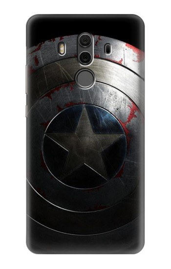 Printed Captain Shield Huawei Mate 10 Pro, Porsche Design Case