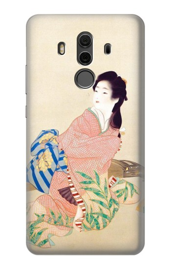 Printed Japan Art Kimono Huawei Mate 10 Pro, Porsche Design Case
