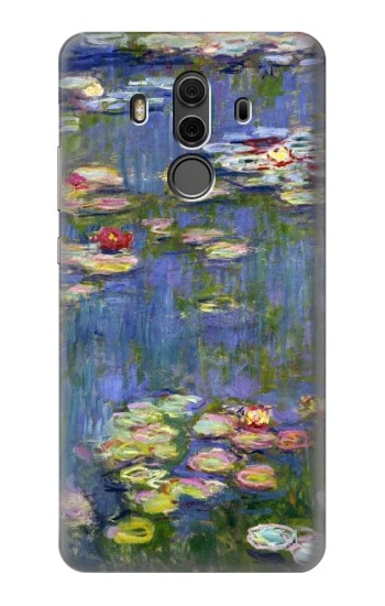 Printed Claude Monet Water Lilies Huawei Mate 10 Pro, Porsche Design Case