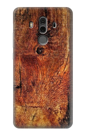Printed Wood Skin Graphic Huawei Mate 10 Pro, Porsche Design Case