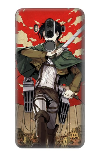 Printed Attack on Titan Rivaille Levi Huawei Mate 10 Pro, Porsche Design Case