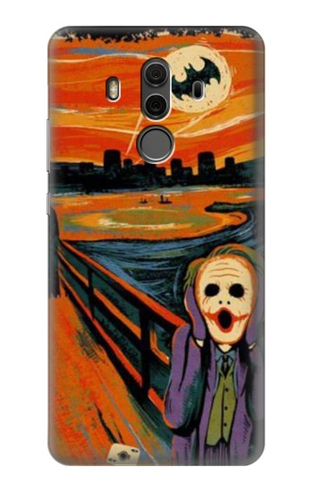 Printed Scream Joker Batman Huawei Mate 10 Pro, Porsche Design Case