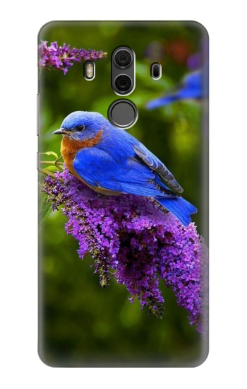 Printed Bluebird of Happiness Blue Bird Huawei Mate 10 Pro, Porsche Design Case