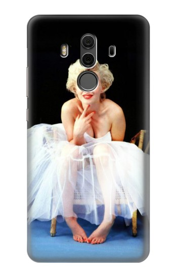 Printed Marilyn Monroe White Dress Huawei Mate 10 Pro, Porsche Design Case