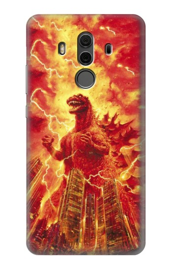 Printed Godzilla The Legend Is Reborn Huawei Mate 10 Pro, Porsche Design Case