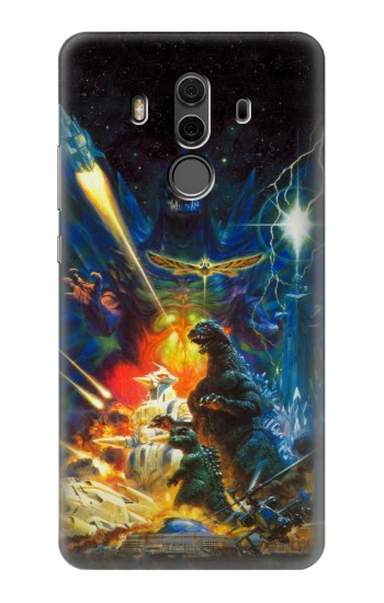 Printed Godzilla VS Space Godzilla Huawei Mate 10 Pro, Porsche Design Case