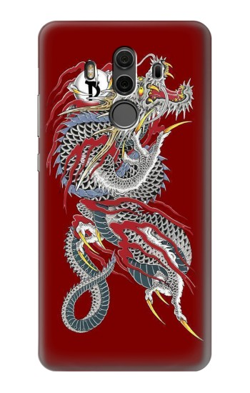 Printed Yakuza Dragon Tattoo Huawei Mate 10 Pro, Porsche Design Case