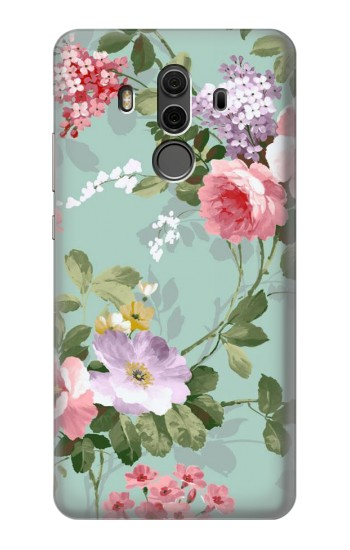 Printed Flower Floral Art Painting Huawei Mate 10 Pro, Porsche Design Case