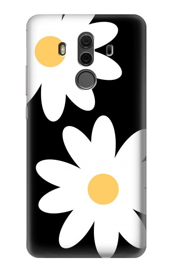 Printed Daisy White Flowers Huawei Mate 10 Pro, Porsche Design Case