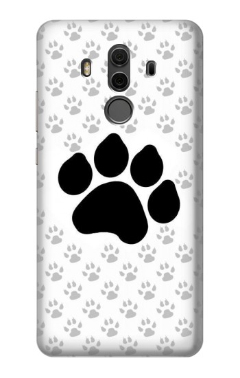 Printed Paw Foot Print Huawei Mate 10 Pro, Porsche Design Case