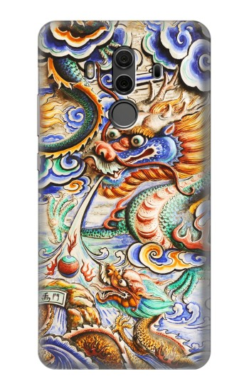 Printed Traditional Chinese Dragon Art Huawei Mate 10 Pro, Porsche Design Case