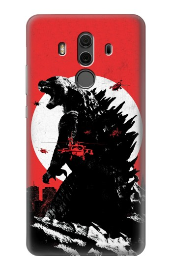 Printed Godzilla Japan Flag Huawei Mate 10 Pro, Porsche Design Case