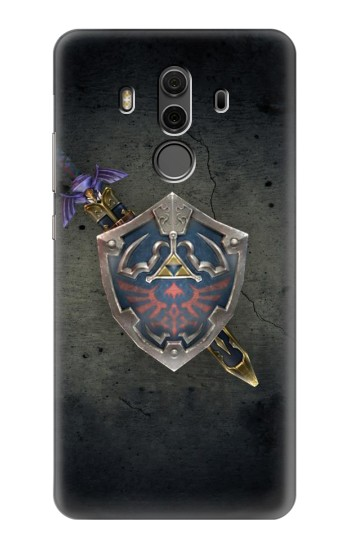 Printed Legend of Zelda Shield Huawei Mate 10 Pro, Porsche Design Case