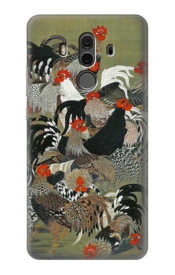 Printed Ito Jakuchu Rooster Huawei Mate 10 Pro, Porsche Design Case