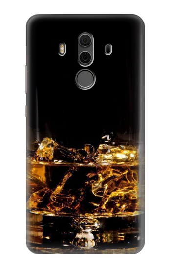 Printed Ice Whiskey Glass Huawei Mate 10 Pro, Porsche Design Case