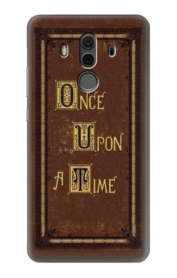 Printed Once Upon a Time Book Cover Huawei Mate 10 Pro, Porsche Design Case