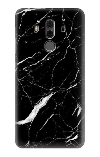 Printed Black Marble Graphic Printed Huawei Mate 10 Pro, Porsche Design Case
