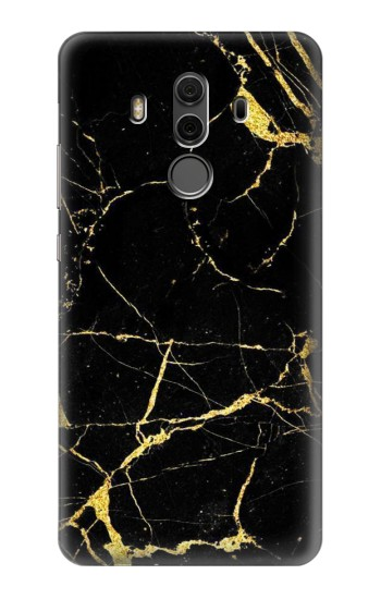 Printed Gold Marble Graphic Printed Huawei Mate 10 Pro, Porsche Design Case