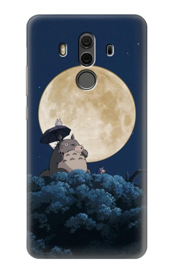 Printed Totoro Ocarina Moon Night Huawei Mate 10 Pro, Porsche Design Case
