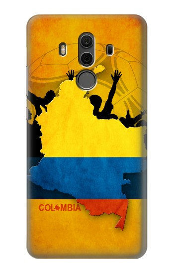 Printed Colombia Football Flag Huawei Mate 10 Pro, Porsche Design Case