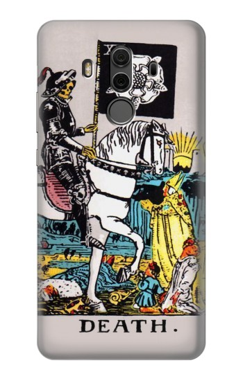 Printed Tarot Card Death Huawei Mate 10 Pro, Porsche Design Case