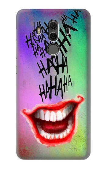 Printed Joker Hahaha Tattoo Huawei Mate 10 Pro, Porsche Design Case