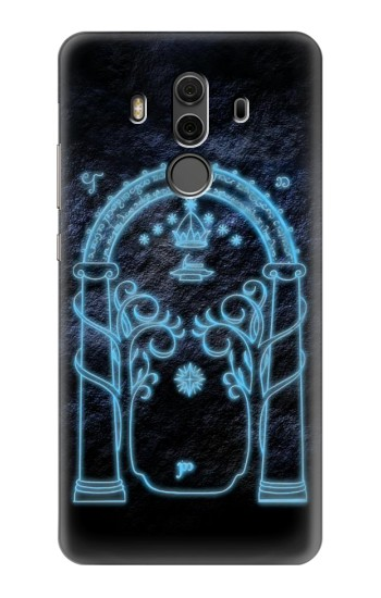 Printed Lord of The Rings Mines of Moria Gate Huawei Mate 10 Pro, Porsche Design Case