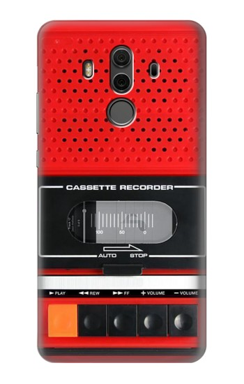 Printed Red Cassette Recorder Graphic Huawei Mate 10 Pro, Porsche Design Case