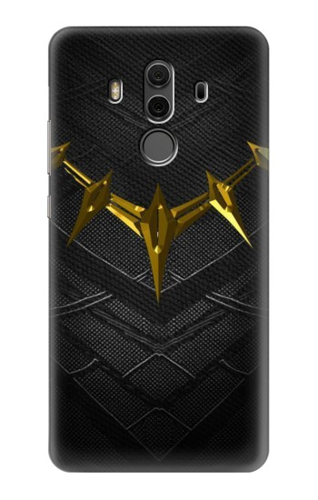 Printed Black Panther Inspired Costume Gold Necklace Huawei Mate 10 Pro, Porsche Design Case