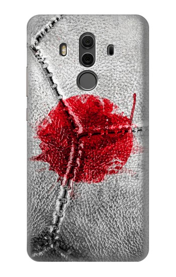 Printed Japan Flag Vintage Football 2018 Huawei Mate 10 Pro, Porsche Design Case