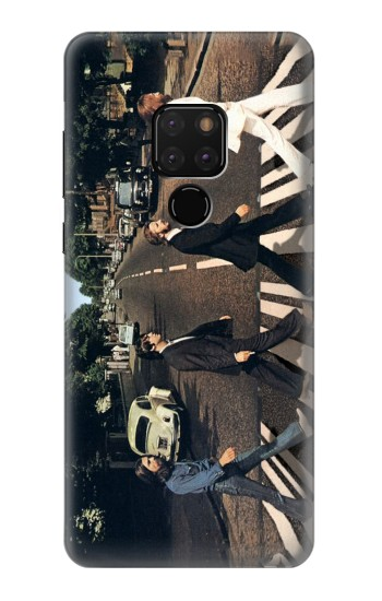 Printed The Beatles Abbey Road Huawei Mate 20 Case