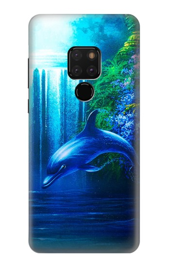 Printed Dolphin Huawei Mate 20 Case