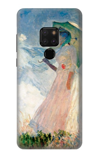 Printed Claude Monet Woman with a Parasol Huawei Mate 20 Case