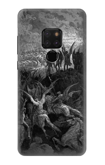 Printed Gustave Dore Paradise Lost Huawei Mate 20 Case