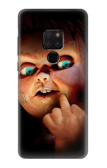 Printed Chucky Middle Finger Huawei Mate 20 Case