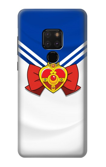 Printed Sailor Moon Brooch and Bow Huawei Mate 20 Case
