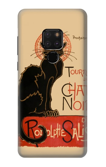 Printed Chat Noir The Black Cat Huawei Mate 20 Case