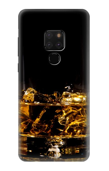 Printed Ice Whiskey Glass Huawei Mate 20 Case