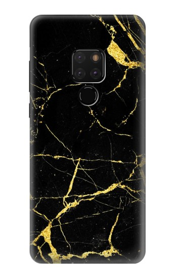 Printed Gold Marble Graphic Printed Huawei Mate 20 Case