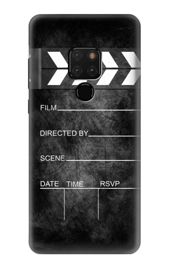 Printed Vintage Director Clapboard Huawei Mate 20 Case