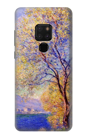 Printed Claude Monet Antibes Seen from the Salis Gardens Huawei Mate 20 Case