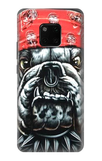 Printed Bulldog Punk Rock Huawei Mate 20 Pro Case